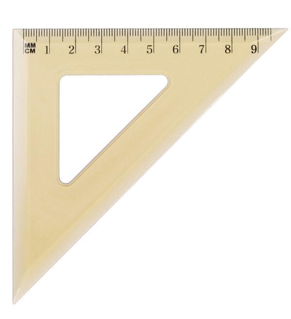Ekierka Grand GR-854T 45/9,5cm Transparent