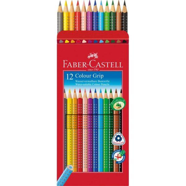 Faber-Castell Kredki 12kol. GRIP