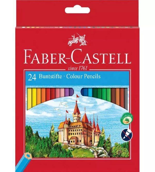 Faber-Castell Kredki 24kol. Zamek FC-120124