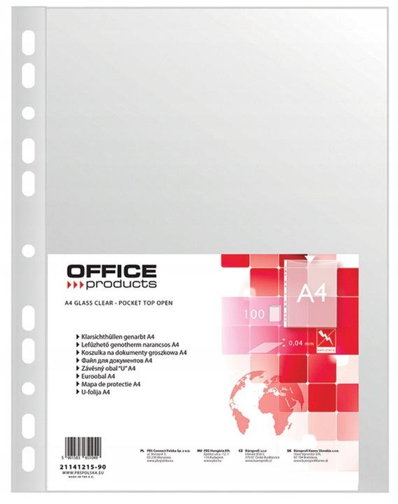 Koszulka A4/100szt. Groszkowa 40UM Office Products