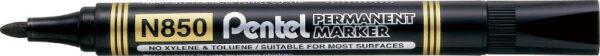 Pentel Marker permanentny okrągły N850 Czarny