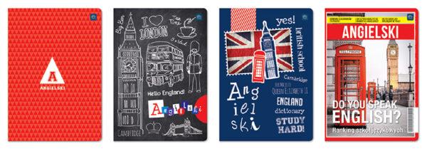 Zeszyt A5/60# Interdruk Język Angielski